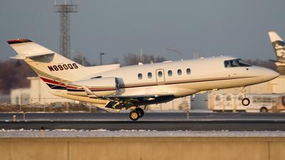 A picture of N890QS - Hawker 900XP - NetJets - © Jeremy D. Dando