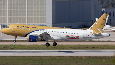 A picture of A9CAG - Airbus A320214 - Gulf Air - © Oksana