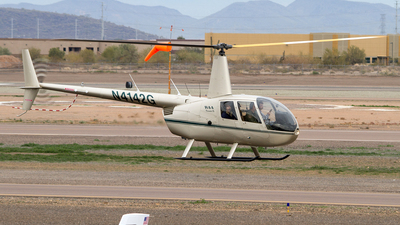 N4142G - Robinson R44 Clipper II - Private