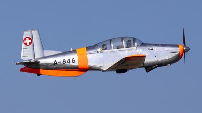 D-EBSM - Pilatus P-3-05 - Private