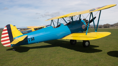 ZK-STM - Boeing A75N1 Stearman - Private