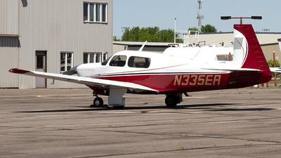N335ER - Mooney M20J - Private