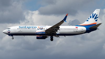 A picture of TCSEJ - Boeing 7378HC - SunExpress - © Marco Materlik
