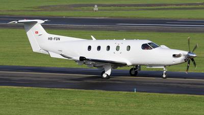 A picture of HBFQN - Pilatus PC12/47 - [1114] - © Ian Howat