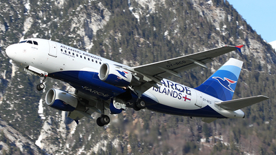 OY-RCG - Airbus A319-115 - Atlantic Airways