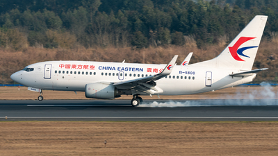 B-5808 - Boeing 737-79P - China Eastern Airlines