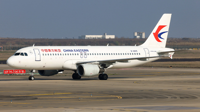 A picture of B6805 - Airbus A320214 - China Eastern Airlines - © Jiaming