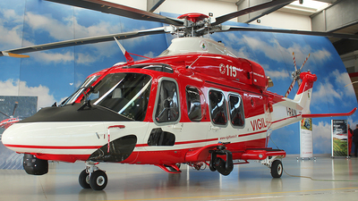 I-RAIN - Agusta-Westland AW-139 - Italy - Vigili del Fuoco