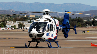 A picture of N241AM - Airbus Helicopters H135 - [0573] - © Agustin Anaya