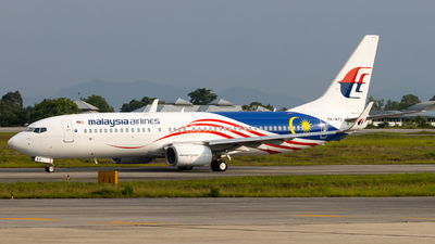 9M-MXU - Boeing 737-8H6 - Malaysia Airlines