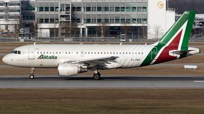 EI-IME - Airbus A319-112 - Alitalia