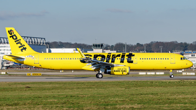 D-AVZK - Airbus A321-231 - Spirit Airlines