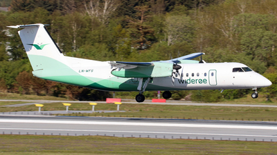 A picture of LNWFS - De Havilland Canada Dash 8300 - Wideroe - © R.Rimestad