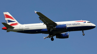 G-EUUL - Airbus A320-232 - British Airways