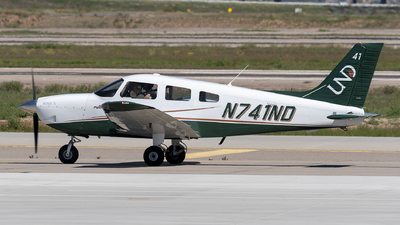 N741ND - Piper PA-28-181 Archer TX - University Of North Dakota