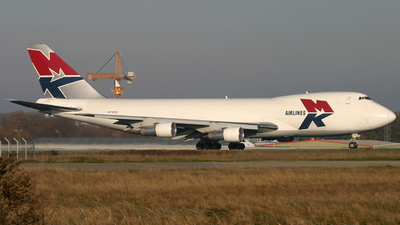 9G-MKR - Boeing 747-2B5F(SCD) - MK Airlines