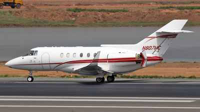 N807MC - British Aerospace BAe 125-800A - Golden Falcon Aviation