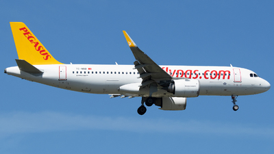 A picture of TCNBB - Airbus A320251N - Pegasus Airlines - © Stefan Bayer