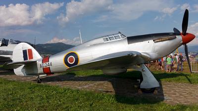 G-CBOE - Hawker Hurricane Mk.IIB - Private