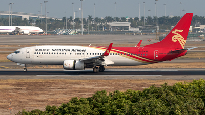 A picture of B5441 - Boeing 73787L - Shenzhen Airlines - © Yan777