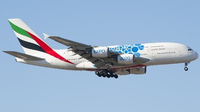 A6-EOF - Airbus A380-861 - Emirates