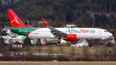 A picture of ECMUB - Boeing 73786J - AlbaStar - © Lorenz Kafenda