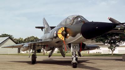 A3-103 - Dassault Mirage 3D - Australia - Royal Australian Air Force (RAAF)