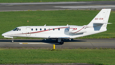 OO-KIN - Cessna 680 Citation Sovereign - Flying Service