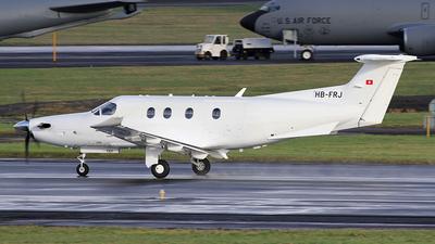 A picture of HBFRJ - Pilatus PC12/47E - Pilatus Flugzeugwerke - © Ian Howat