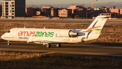 CP-2742 - Bombardier CRJ-200LR - Linea Aerea Amaszonas