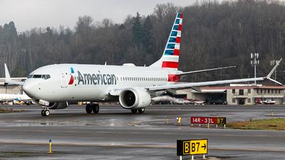 N334SM - Boeing 737-8 MAX - American Airlines