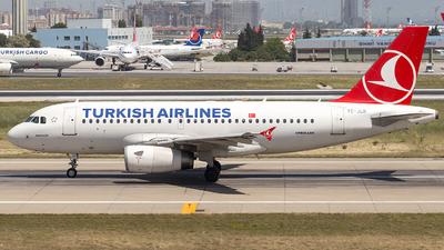 TC-JLR - Airbus A319-132 - Turkish Airlines