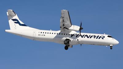 OH-ATM - ATR 72-212A(500) - Finnair (Nordic Regional Airlines NORRA)