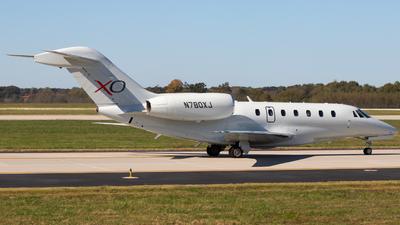 N780XJ - Cessna 750 Citation X - XOJet