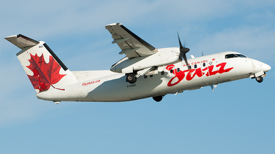 C-FABN - Bombardier Dash 8-102 - Air Canada Jazz