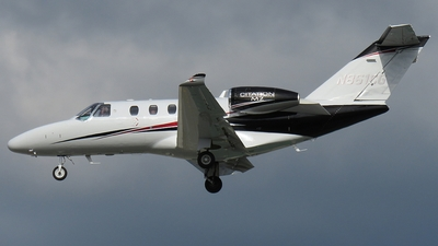 N861CG - Cessna 525 CitationJet M2 - Private