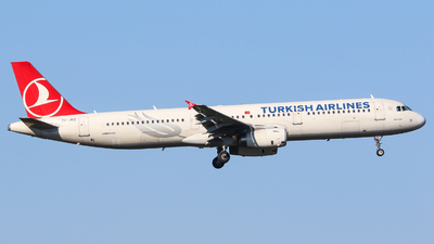 A picture of TCJRZ - Airbus A321231 - Turkish Airlines - © Johannes Wirl