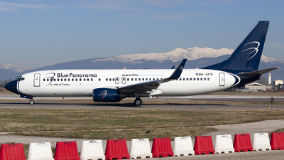 A picture of 9HGFP - Boeing 73789L - Blue Panorama Airlines - © Martina Olivati
