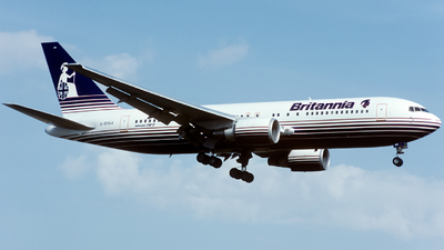 G-BYAA - Boeing 767-204(ER) - Britannia Airways