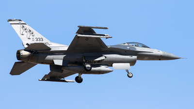 87-0333 - General Dynamics F-16C Fighting Falcon - United States - US Air Force (USAF)