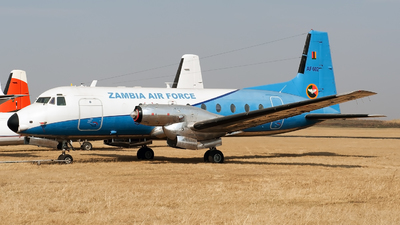 AF602 - Hawker Siddeley HS-748 Series 2A - Zambia - Air Force