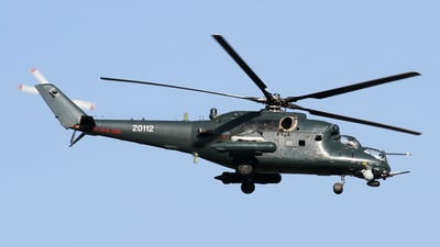 20112 - Mil Mi-35M Hind - Azerbaijan - Air Force
