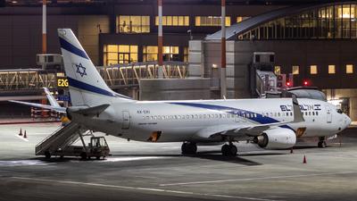 A picture of 4XEKI - Boeing 73786N - El Al - © noamh