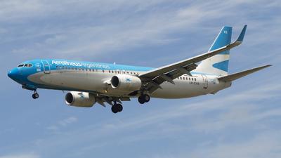 A picture of LVCXS - Boeing 73781D - Aerolineas Argentinas - © Lucas Sérgio