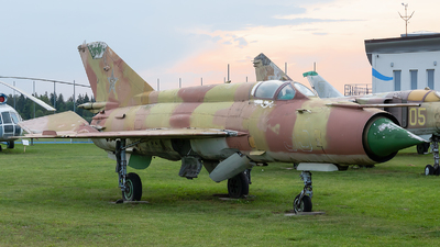 35 - Mikoyan-Gurevich MiG-21MF Fishbed J - Russia - Air Force