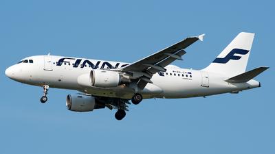 OH-LVI - Airbus A319-112 - Finnair