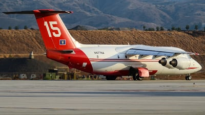 N477NA - British Aerospace BAe 146-200A - Neptune Aviation Services