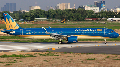 A picture of VNA623 - Airbus A321272N - Vietnam Airlines - © Toanla_SFAP