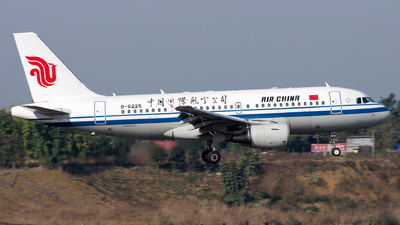 A picture of B6225 - Airbus A319115 - Air China - © baobao723