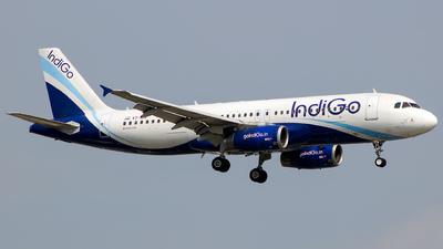 VT-IDN - Airbus A320-232 - IndiGo Airlines